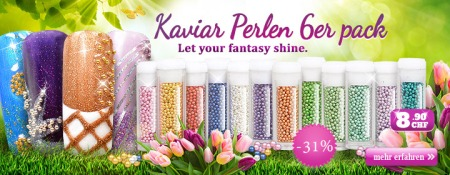 31% Rabatt auf Royal Nails Kaviar Perlen Nr.2 6er Pack
