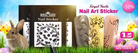 52% Rabatt auf Royal Nails Nail-Art Sticker