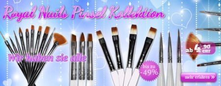 Pinsel Kollektion RoyalNails -49%
