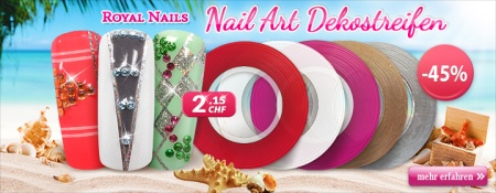45% Rabatt auf Royal Nails Nail-Art Dekostreifen