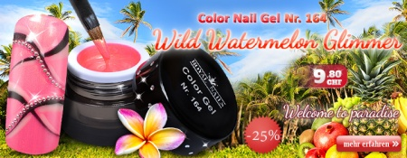 25% Rabatt auf Royal Nails Color Nail Gel Nr. 164 Wild Watermelon Glimmer