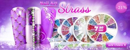 21% Rabatt auf Royal Nails Nail-Art Strass