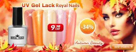"-34% auf RoyalNails UV Gel-Lack, Permanent Nagellack ""Autumn Beauty"""