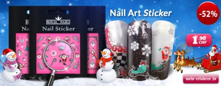 "52% Rabatt auf Royal Nails Nail-Art Sticker ""Christmas"""