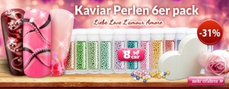 31% Rabatt auf Kaviar Perlen