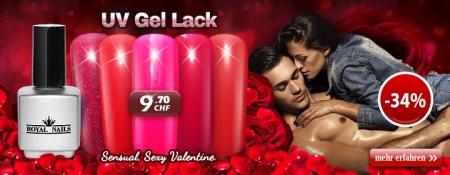 """34% Rabatt auf RoyalNails UV Gel-Lack, Permanent Nagellack """"Sexy Valentine"""""""
