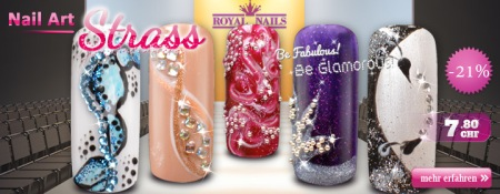 21% Rabatt auf Royal Nails Strass