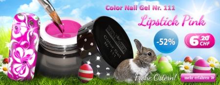 52% Rabatt auf Color Nail Gel Nr. 111 Lipstick Pink