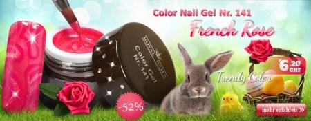 52% Rabatt auf Color Nail Gel Nr. 141 French Rose