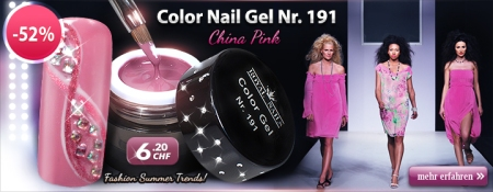 52% Rabatt auf Color Nail Gel Nr. 191 China Pink