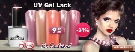 "34% Rabatt auf RoyalNails UV Gel-Lack ""Fashion summer 2015"""