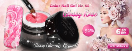 -52% Color Nail Gel Nr. 06 Glossy Rose