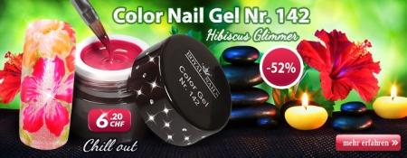 52% Rabatt auf Color Gel Nr. 142 Hibiscus Glimmer