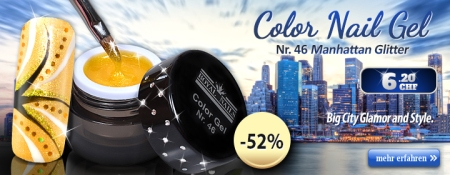 52% Rabatt auf Color Gel No. 46 Manhattan Glitter