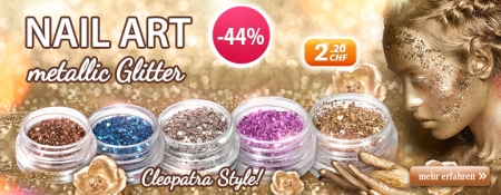 -44% auf Nail Art metallic Glitter
