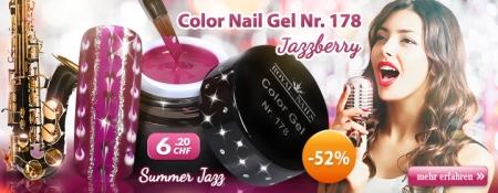 52% Rabatt auf Color Nail Gel Nr. 178 Jazzberry