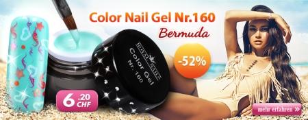 52% Rabatt auf Color Nail Gel Nr.160 Bermuda